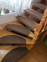 Ступени для лестниц, лестница, антискользящие коврики, ковровие ступени для лестниц