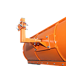 Лопата відвал до мотоблоку 1,5 м ТМ Булат ( для мотоблоків з повітряним і водяним охолодженням), фото 6