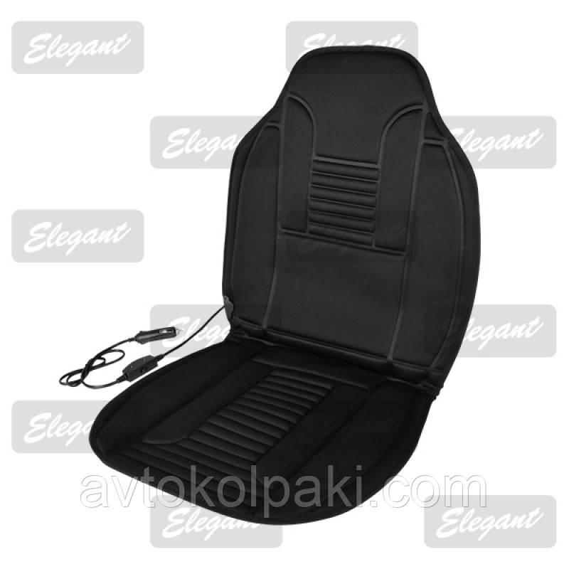 Накидка с подогревом на автомобильное сидение Elegant Plus 96Х46 см