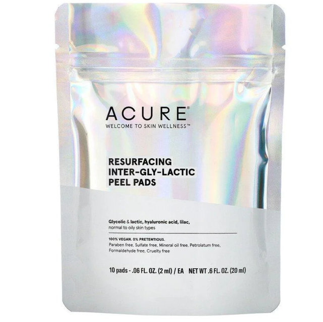 Acure Resurfacing Inter-Gly-Lactic Peel Pads фото
