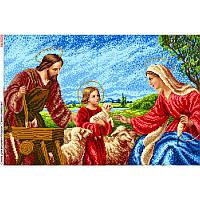 """Схема для повної вишивки """" Святе сімейство """" БА-3009"""