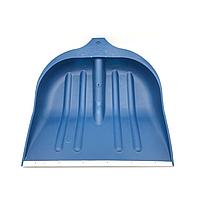 Лопата для уборки снега ABC (490х495мм) синяя без черенка (14-6213)