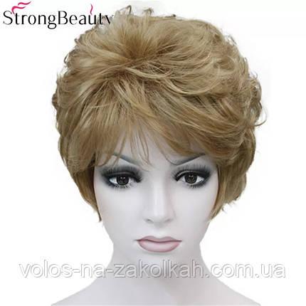 Парик короткая стрижка светлорусый блонд 1123#10, фото 2
