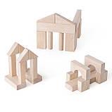 Кубики деревянные конструктор для детей Guidecraft Unit Blocks набор из 28 больших строительных блоков, фото 2