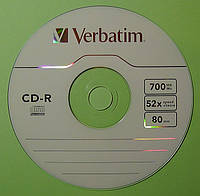 Диск CD-R Verbatim 700 Mb 52x 80min
