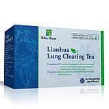 Китайский чай для очищения легких lianhua lung Сlearing Tea от инфекций, фото 3
