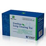 Китайский чай для очищения легких lianhua lung Сlearing Tea от инфекций, фото 5