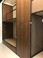 Кровать металлическая для хостела двухярусная К-2, фото 1