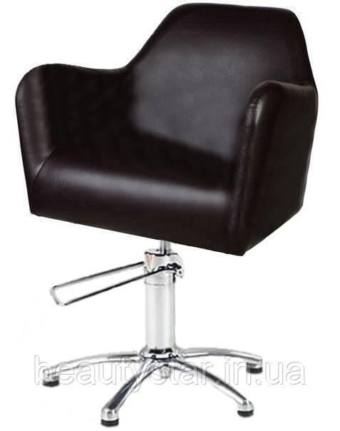 Парикмахерское кресло гидравлическое широкое для салон красоты кресла Stefan