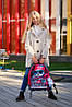 Шкільний ранець в 1-4 клас рюкзак для дівчинки в комплекті смєнка і пенал Сова DeLune 10-003, фото 5