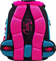Шкільний ранець в 1-4 клас рюкзак для дівчинки в комплекті смєнка і пенал Сова DeLune 10-003, фото 3