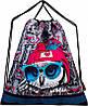 Шкільний ранець в 1-4 клас рюкзак для дівчинки в комплекті смєнка і пенал Сова DeLune 10-003, фото 4