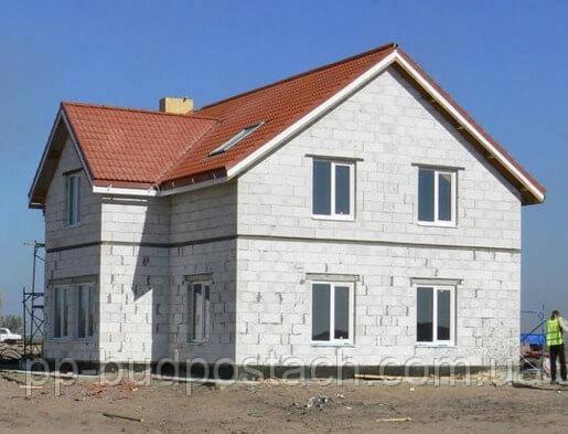 Газобетонні будинку