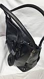 Женские сумки замша Китай (ЧЕРНЫЙ ЗАМША)34*30см, фото 2
