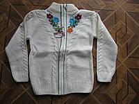 Детская вязаная кофта для девочек 116-140 см Турция, фото 1