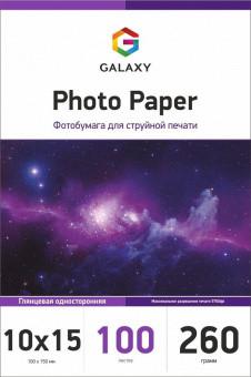 Глянцевий фотопапір Galaxy 10x15 (100л) 260г/м2
