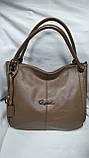 Качественные женские сумки Премиум Класса 2отд (ЧЕРНЫЙ)34*30см, фото 3