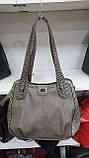 Качественные женские сумки Премиум Класса 2отд (ЧЕРНЫЙ)35*30см, фото 2