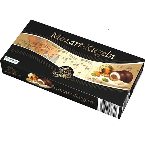 Конфеты Mozart-Kugeln Марципаны Dark Chocolate Henry Lambertz 200 г Германия