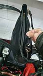 Комбинированные замшевые сумки Китай (ЧЕРНЫЙ ЗАМША)35*33см, фото 4
