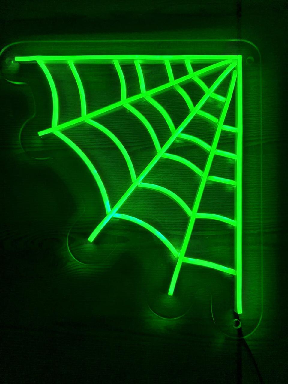 Вывеска с подсветкой из неона WEB 40х40см