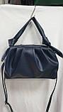 Женские стильные сумки (В ЧЕРНОМ БЛЕСТКИ)25*25см, фото 4