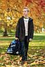 Школьный рюкзак для мальчика в 1-4 класс набор ранец пенал и сменка DeLune 10-008, фото 6