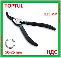 Щипцы для снятия стопорных колец, наружных, кольцесъемник, съемник, клещи, плоскогубцы, Toptul DCAA1205