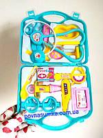 Набор доктора в чемодане,игровой набор врач,больничка