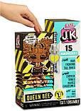 L.O.L. Surprise! JK .Queen Bee Королева Пчелка Модная мини куколка с 15 сюрпризами, фото 4