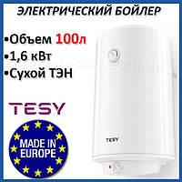 Бойлер 90 литров Tesy DRY 100 2х0,8 кВт. Электрический накопительный водонагреватель с сухим ТЕНом. Кредит