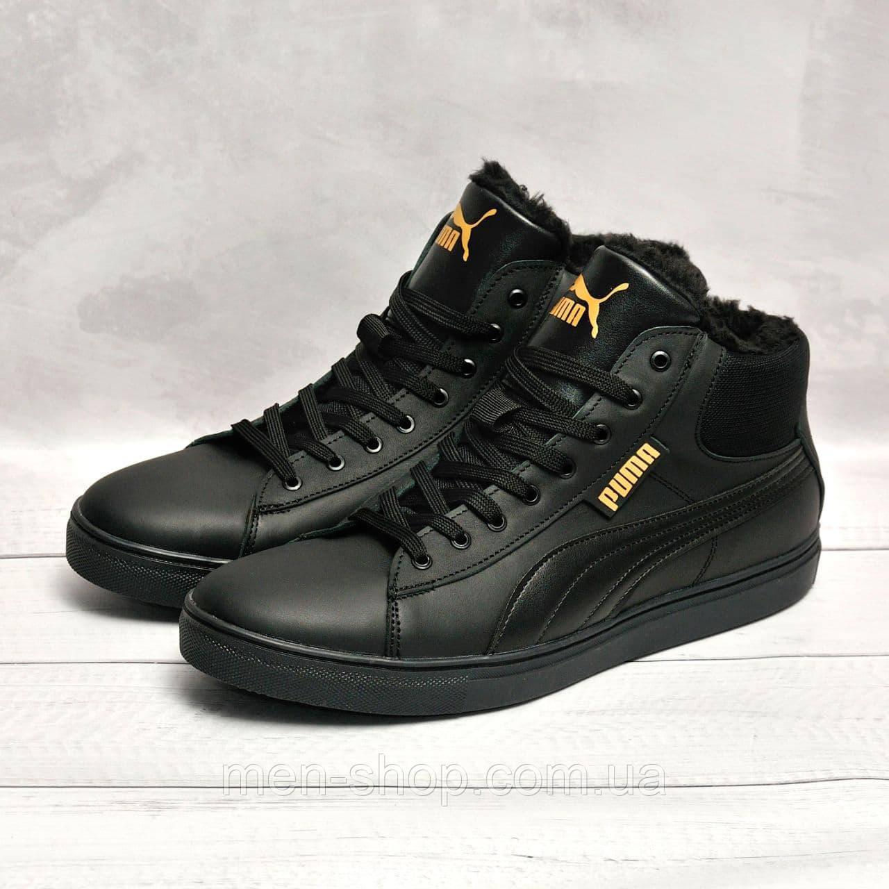 Зимние ботинки в стиле Puma