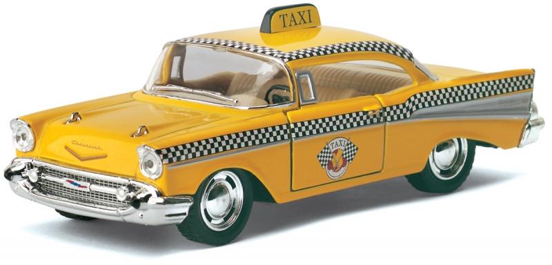 Машинка Kinsmart HU KT5360W Chevrolet Bel Air Taxi, масштаб 1:40
