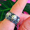 Серебряное кольцо Череп - Кольцо с черепом серебро - Байкерское кольцо Черепа серебро, фото 7