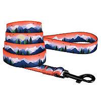 Поводок для собак Travel нейлоновый Горы