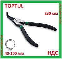 Щипцы для снятия стопорных колец, наружных, кольцесъемник, съемник, клещи, плоскогубцы, Toptul DCAA1209
