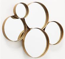 Настенный декор Зеркало золото 73*57см