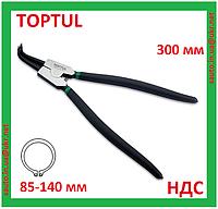 Щипцы для снятия стопорных колец, наружных, кольцесъемник, съемник, клещи, плоскогубцы, Toptul DCAA1212