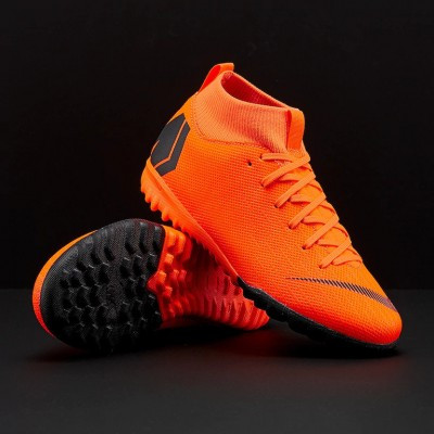 Детская футбольная обувь (сороконожки) Nike MercurialX SuperflyX 6 Academy GS TF