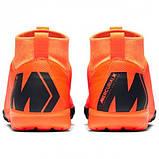 Детская футбольная обувь (сороконожки) Nike MercurialX SuperflyX 6 Academy GS TF, фото 7