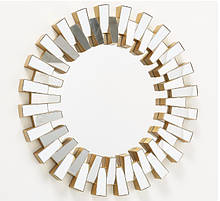 Настенный декор зеркало Либерти d50см