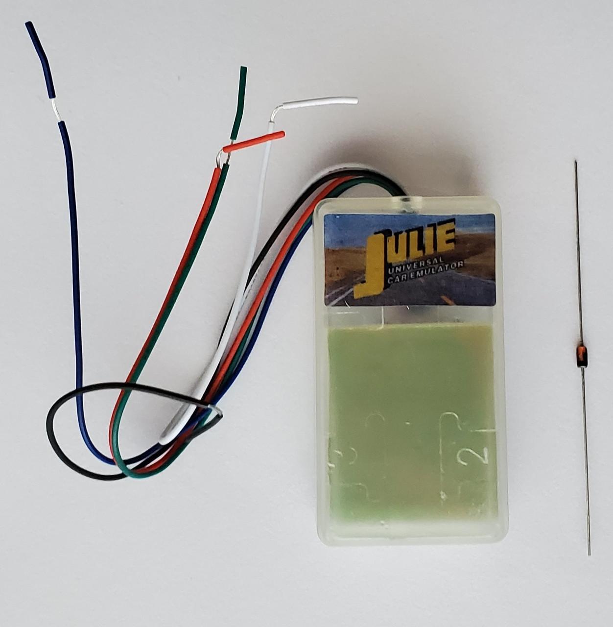 JULIE / SQU OF68 Universal Emulator - IMMO эмулятор, Эмулятор датчика пассажира