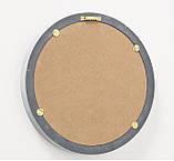 Набор 3-х зеркал «Брест» серый МДФ d25-35см, фото 6