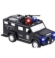 """Электро Сейф копилка """"Машина"""" с кодовым замком и отпечатком пальца и ультрафиолетом EL-510-7"""