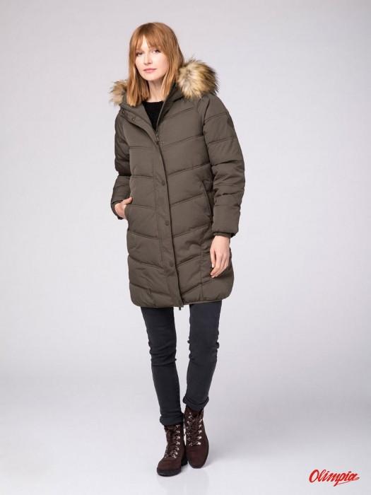 Зимняя женская куртка пальто Volcano J-Samira L2095-306