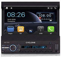Мультимедийний центр CYCLONE MP-7059 GPS 1Din выездной
