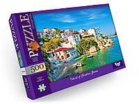 Пазлы на 500 эл. Греция Danko Toys С500-13-02