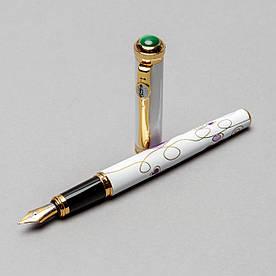 Пір'яна ручка 138 мм Picasso 958-F-WH Біла