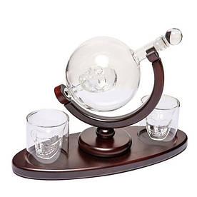 Набор для виски подарочный BST Доктор Фауст 4 шт (640002)