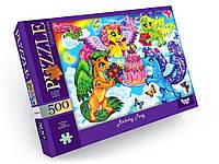 Пазлы на 500 эл. Пони Danko Toys С500-13-09